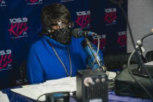 KISS-FM radio host Mildred Gaddis